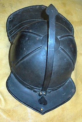 Lobstertail Pot Helmet, Dutch, circa 1620