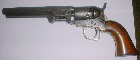 colt model 1862 pocket navy percussion revolver