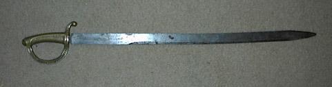 Spanish Modelo 1818 Infantry Sword
