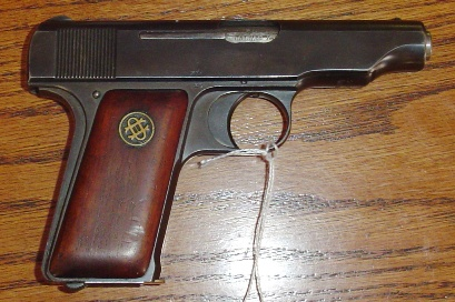 German Deutsche Werke Ortgies Patent Semi-Auto Pistol